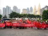 世上无难事只要肯登攀                              ——记重庆市癌症康复会徒步登山主题活动