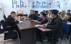沙坪坝区人大代表吴永忠教授深入社区收集社情民意