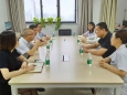 四川科伦药业股份有限公司代表来我院I期病房参观交流