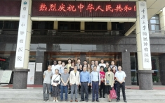 中英大学工程教育与研究联盟来重庆大学附属肿瘤医院参观交流
