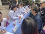 重庆大学附属肿瘤医院肿瘤放疗中心赴三峡中心医院开展义诊活动