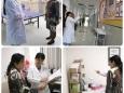 重庆医科大学附属大学城医院、合川区中西结合医院来重庆大学附属肿瘤医院病理科参观交流