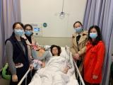 关怀暖人心,情浓暖病房 ——消化内科党支部组织看望患病医生