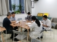 我院医学工程部与病理科举行工作交流会