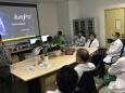 医学工程部组织肺导航系统及移动C臂操作培训