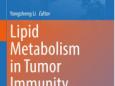 重庆大学附属肿瘤医院李咏生教授主编发表Springer Nature专著《脂代谢与肿瘤免疫》