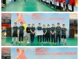 我院羽毛球队参加重庆市教科文卫体职工羽毛球赛