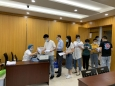 重庆大学附属肿瘤医院顺利完成2021年度放射工作人员职业健康体检
