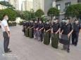 重庆大学附属肿瘤医院开展反恐防暴应急演练