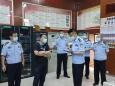 医院接受市公安局治安总队安全检查
