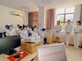 重庆大学附属肿瘤医院门诊部组织开展教学查房活动