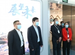 重庆大学党委书记舒立春一行来院调研指导工作