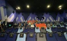 学党史,悟思想 ——后勤党支部组织观看红色电影《长津湖》